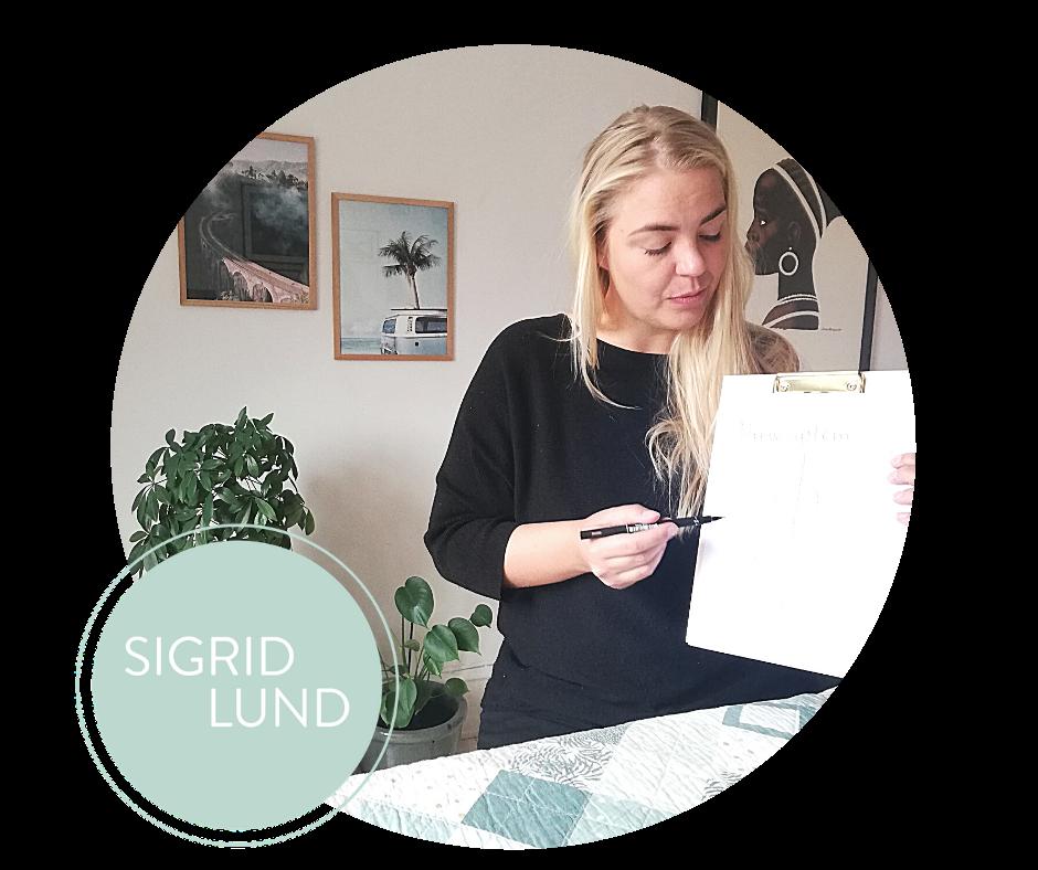 Sigrid Lund forklarer om stress og nervesystem