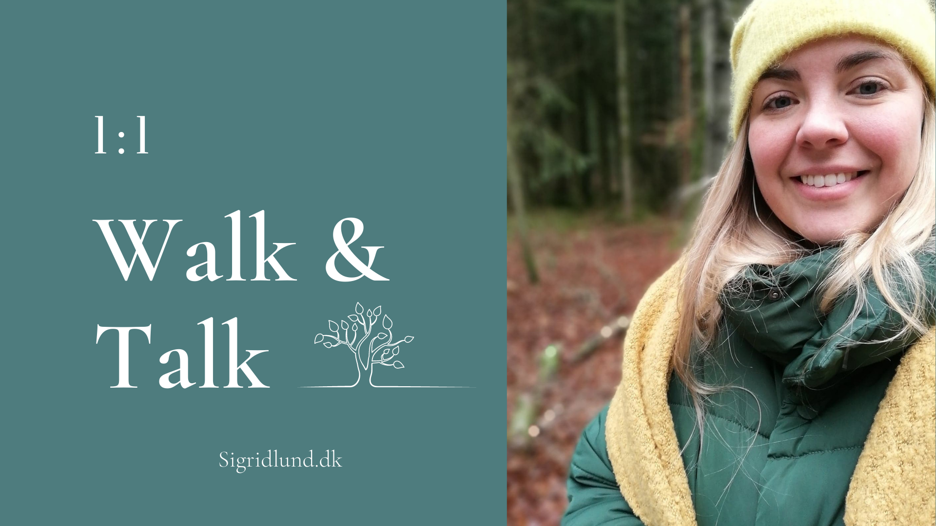 Walk and talk med Sigrid Lund