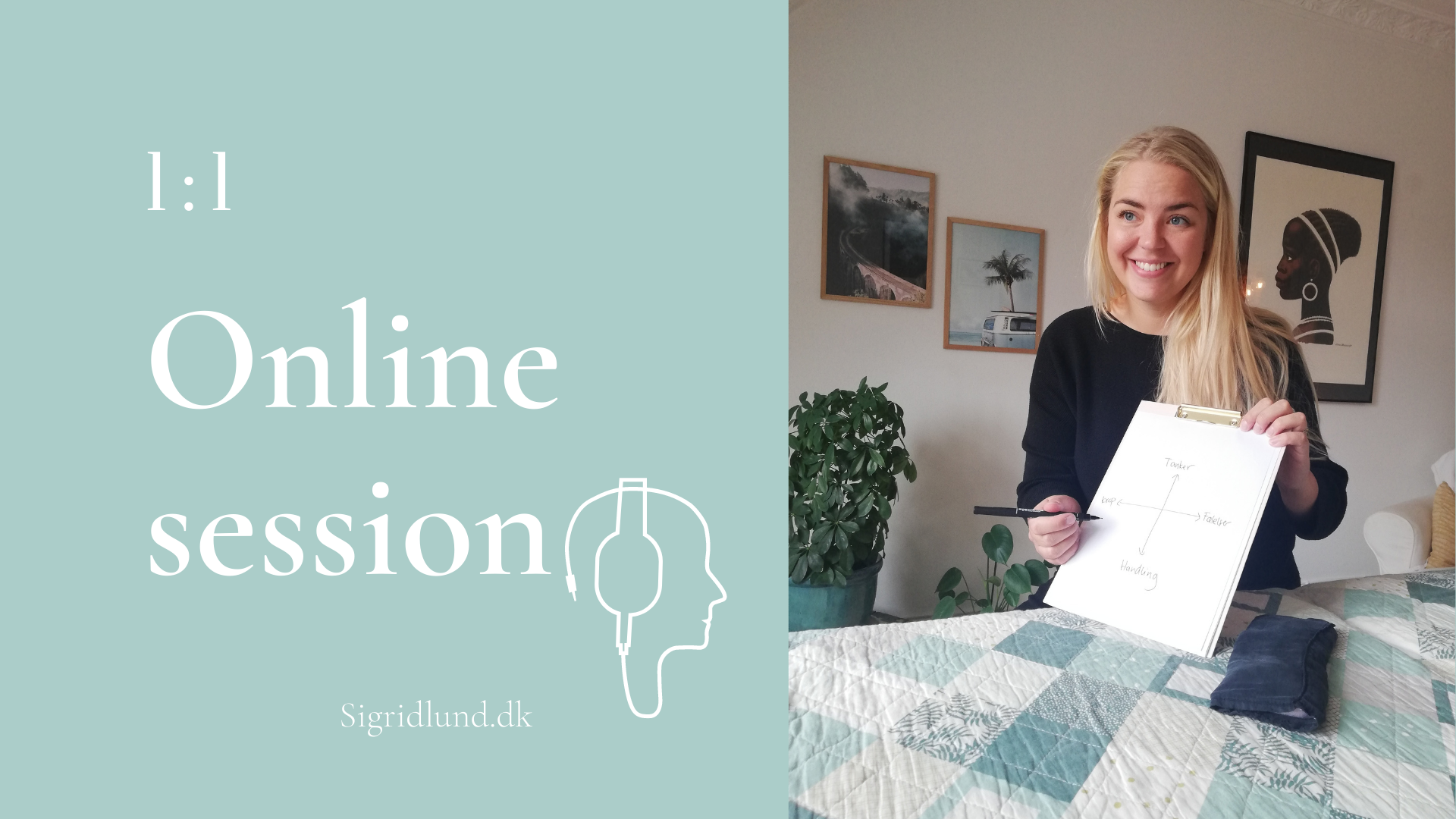 Online session hos Sigrid Lund